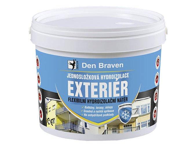 Jednosložková hydroizolace Den Braven EXTERIÉR 06.93b