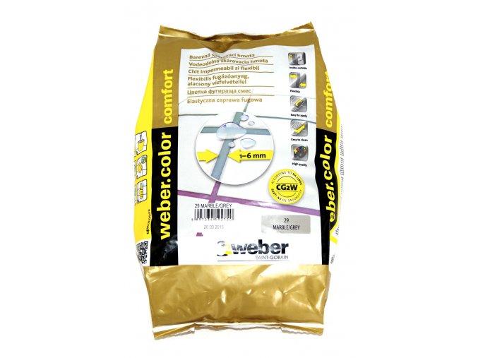 Spárovací hmota na obklady a dlažbu Weber (2 kg)