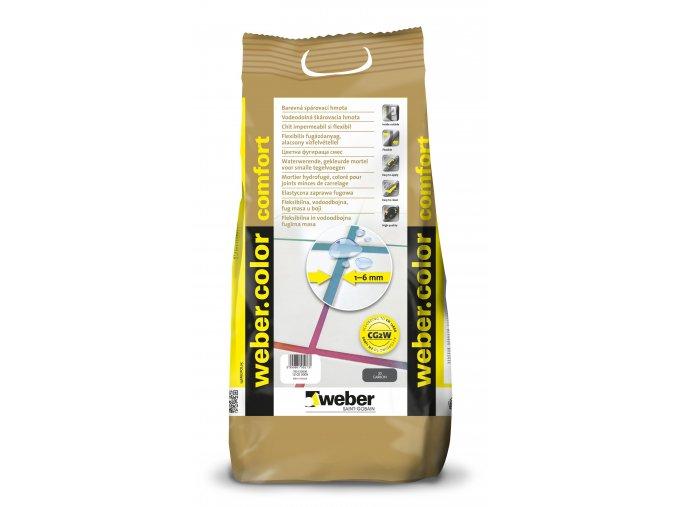 Spárovací hmota na obklady a dlažbu Weber (5 kg)