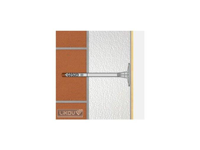 Talířová hmoždinka Wkret-met LTX 10 (10 mm)