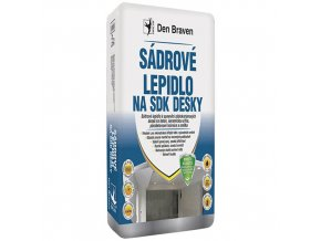 Sádrové lepidlo na sádrokartonové desky Den Braven (20 kg)