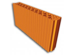 Akustický cihelný blok Porotherm AKU 19 (na maltu)