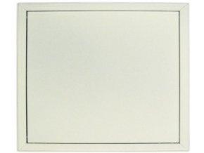 Plechová revizní dvířka (bílá)