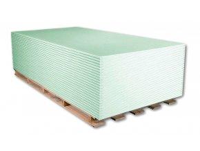 Protivlhkostní sádrokartonová deska Norgips GKBI (1250x2000x12,5 mm)