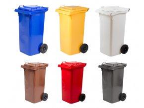 Plastová popelnice s kolečky (240 l)