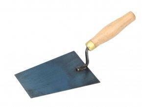 Ocelová zednická lžíce s dřevěnou rukojetí Festa