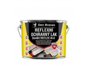Reflexní ochranný lak Den Braven DenBit Reflex ALU (4,5 kg)