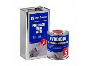 Penetrační epoxy nátěr Den Braven (4+0,4 kg)