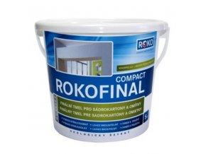 Dokončovací tmel Rokospol Rokofinal Compact