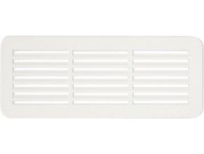 Ventilační dveřní mřížka Haco VMD bílá