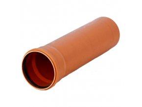 Osma KGEM kanalizační trubka s hrdlem SN4, (125x3 mm)