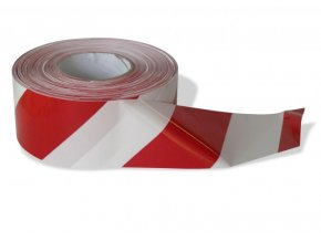 Výstražná páska Extol (250 m, červenobílá)