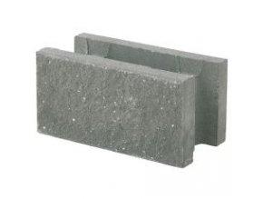 Univerzální betonová tvarovka Best Natura IV (přírodní, 20x40x20 cm)