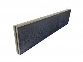 Zahradní obrubník CS-Beton R20-30 přírodní (100x5 cm)