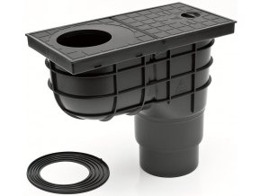 Spodní lapač střešních splavenin - geiger KV 125 (DN 125)