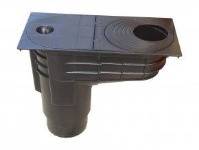 Spodní lapač střešních splavenin - geiger Hene CR100 (DN 100)