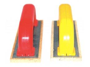 Špaletové hladítko s bílou plstí (190x60x10 mm)