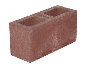 Plotová tvarovka KB Blok KB 1-15 A (červená)