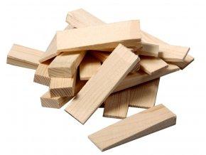 Montážní dřevěné klínky (20x55x6-0 mm, 20 ks)