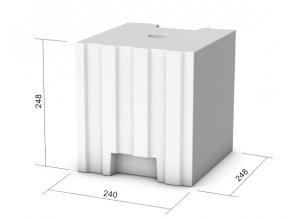 Tvárnice KM Beta Sendwix 8DF-LD (240x248x248 mm)
