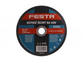 Řezný kotouč na kov Festa Standart (upnutí 22,2 mm)