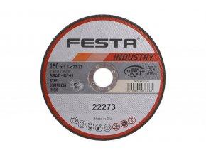 Řezný kotouč na kov Festa Industry (upnutí 22,2 mm, tloušťka 1,6 mm)