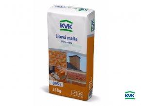 Lícová malta KVK 0951 (šedá, 25 kg)