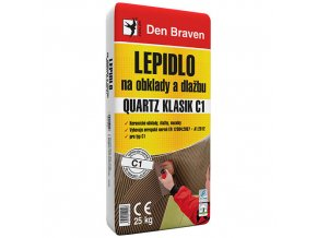 Lepidlo na obklady a dlažbu Den Braven Quartz Klasik C1 (25 kg)