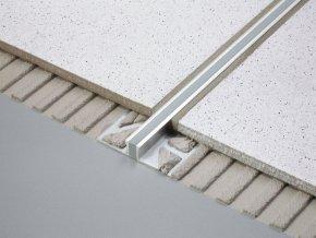 Dilatační plastová lišta do dlažby Robex (8 mm / 2,5 m, šedá)