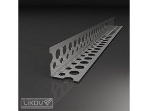 Rohová hliníková lišta Likov (25x25 mm, 90°)