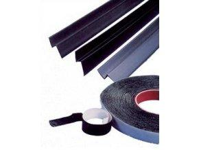 Ukončovací lišta pro knopové folie Likov (2 m, pro NOP 8 mm, černá)
