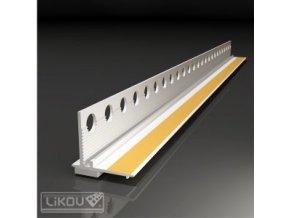 Plastový začišťovací okenní profil Likov (2,4 m, bílý)