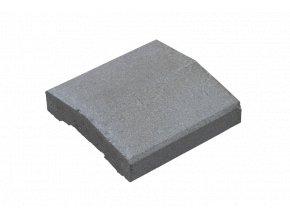 Plotová stříška KB Blok KB PS-15 A 250 (přírodní)