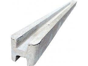 Průběžný betonový plotový sloupek Beves