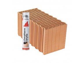 Cihla Wienerberger Porotherm Profi Dryfix 44 1/2 K (440x249x125 mm)