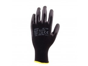 Pracovní rukavice Buck černé (velikost 10)