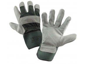 Ochranné rukavice z hovězí kůže VM 1016G (velikost 11)