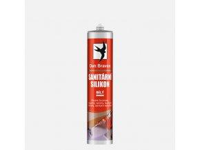 Sanitární silikon Den Braven RL (310 mm, bílý)