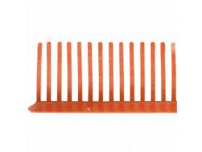 Ochranná větrací mřížka Satjam OVM (1000x60 mm, červená)