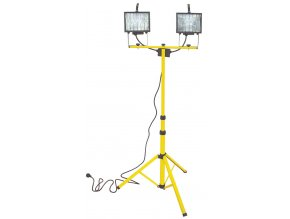 Halogenové svítidlo se 2 světly a stativem (2x400 W)