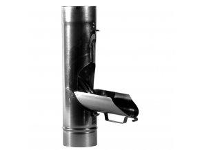 Pozinkovaná svodová výpusť do sudu (100 mm)