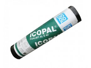 Protiradonový asfaltový pás Icopal Vedag Foalbit Al S40 (7,5 m2)