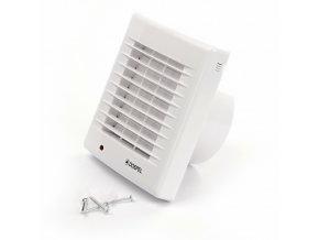 Ventilátor s automatickou žaluzií Dospel POLO 4/AZ (100 mm)