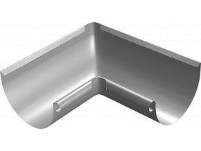 Titanzinkový vnitřní žlabový kout (330 mm)
