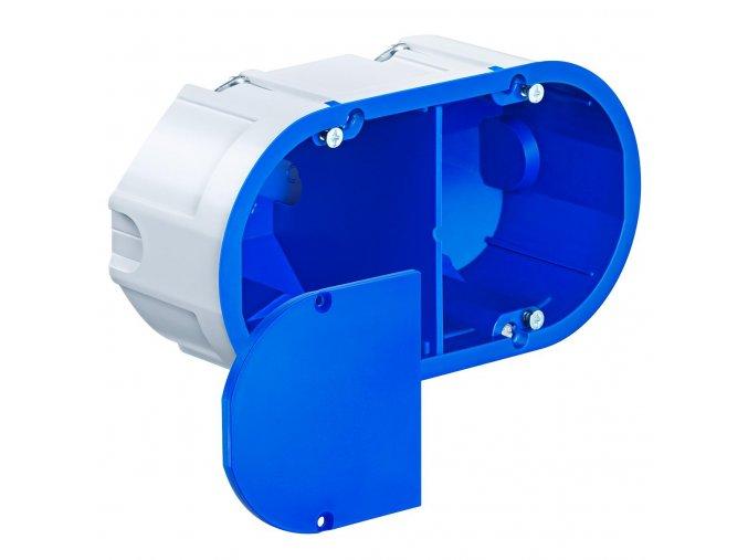 Zvukově izolační elektro krabice | dvojitá