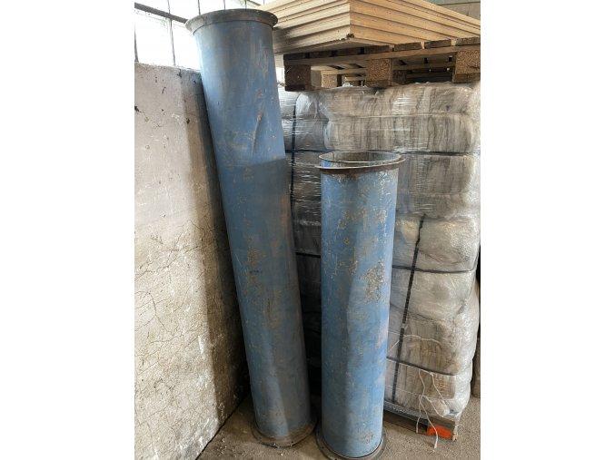 Ocelové potrubí - shoz suti