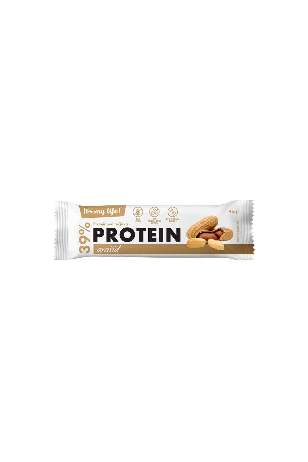 It's my life! Proteinová tyčinka arašíd 45g