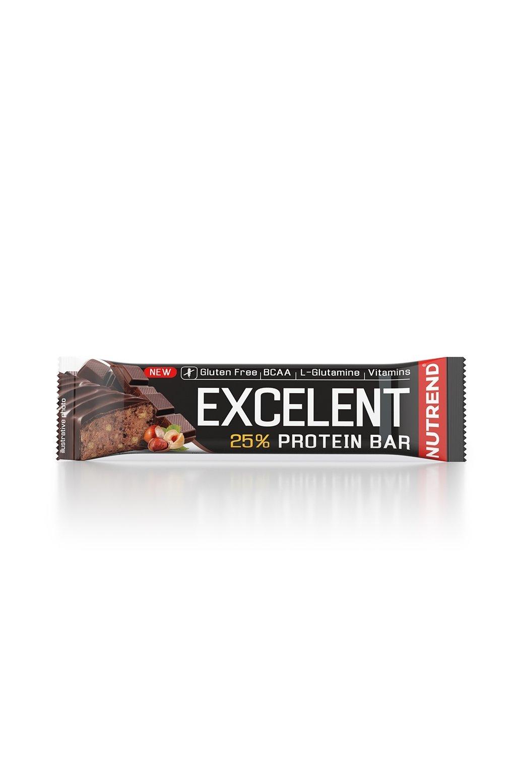 EXCELLENT protein bar čokoláda s oříšky, 85g