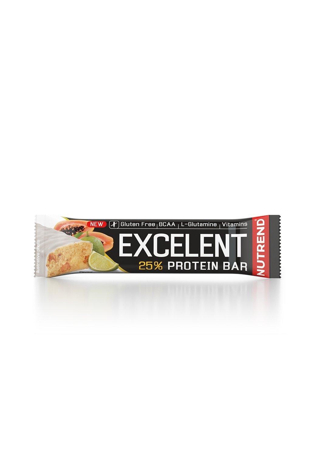 EXCELLENT protein bar limetka s papájou, 85g