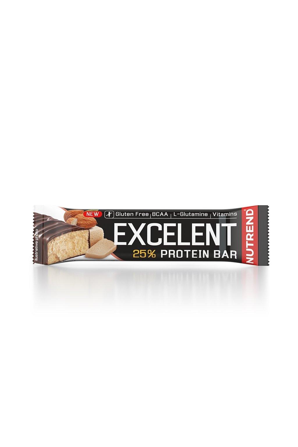 EXCELLENT protein bar marcipán s mandlemi, 85g